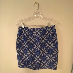 Cluny Sequence Patterned Skirt